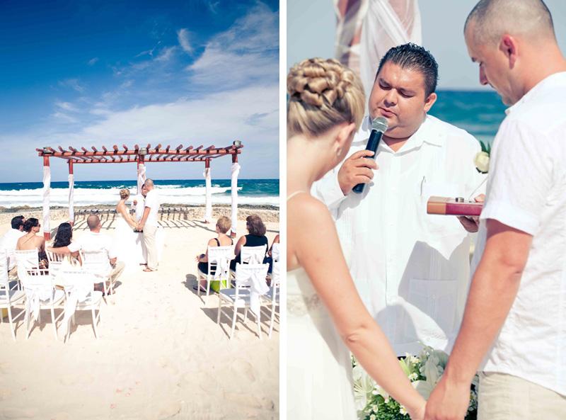 beach wedding, mayan riviera, wedding photography, mexico, gran bahia principe, beach, mexico