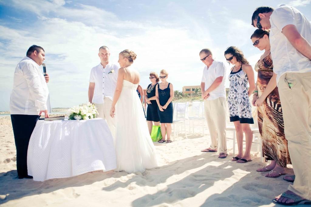 mexico, destination wedding, gran bahia, principe, beach ceremony