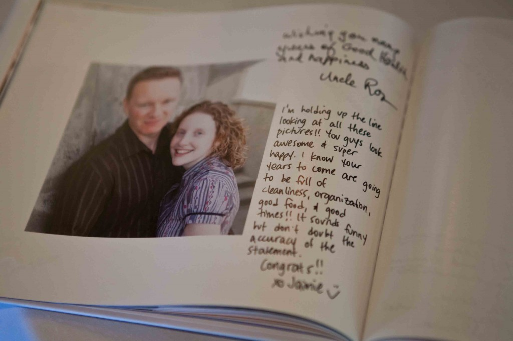 engagement guestbook, engagement photography guestbook, vancouver