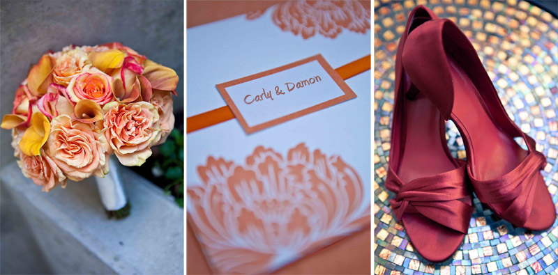 wedding details, flowers, buy the bunch, invitations, red shoes