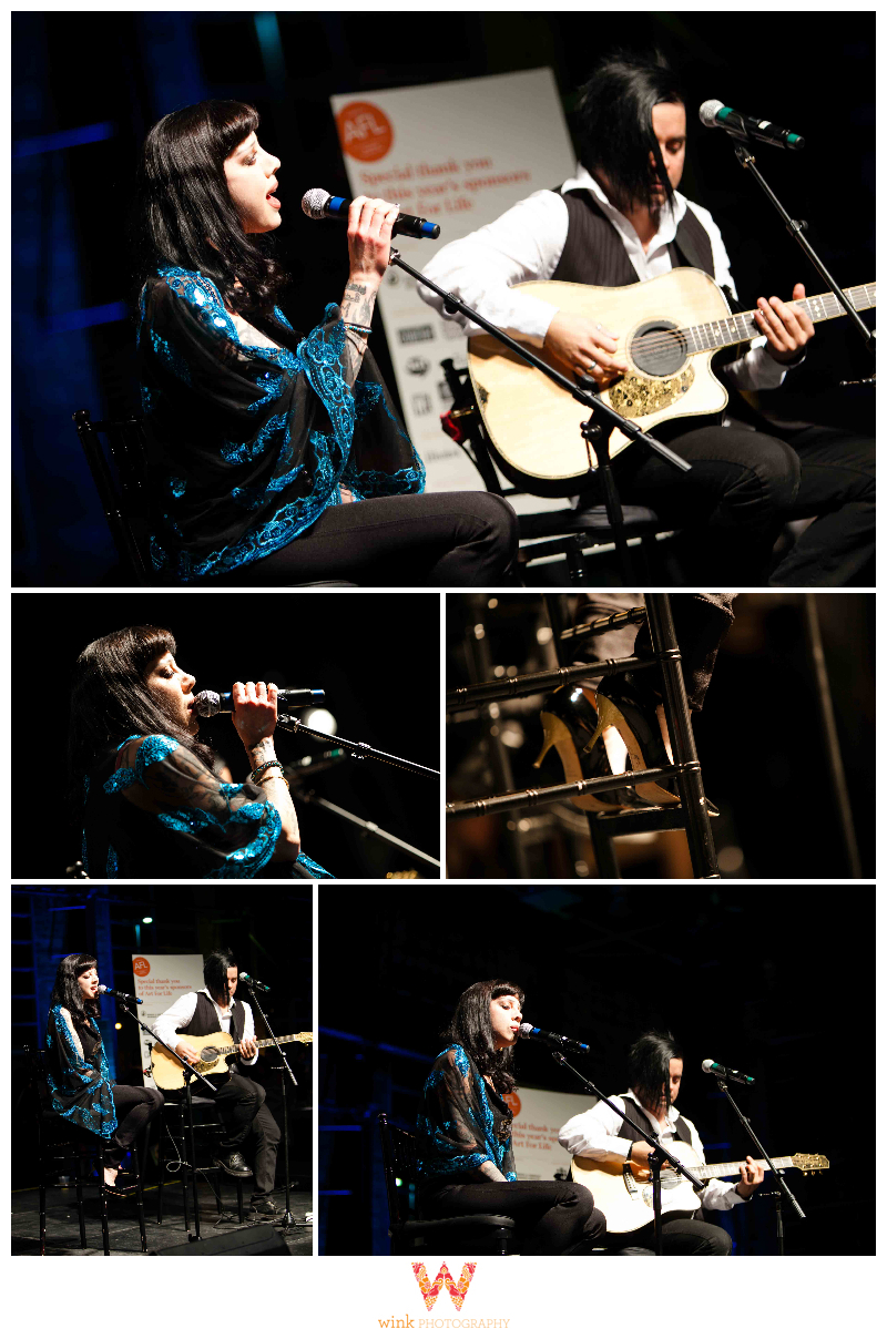 art for life, vancouver, bif naked, live performance, rocky mountaineer, station, wink photography, event photography