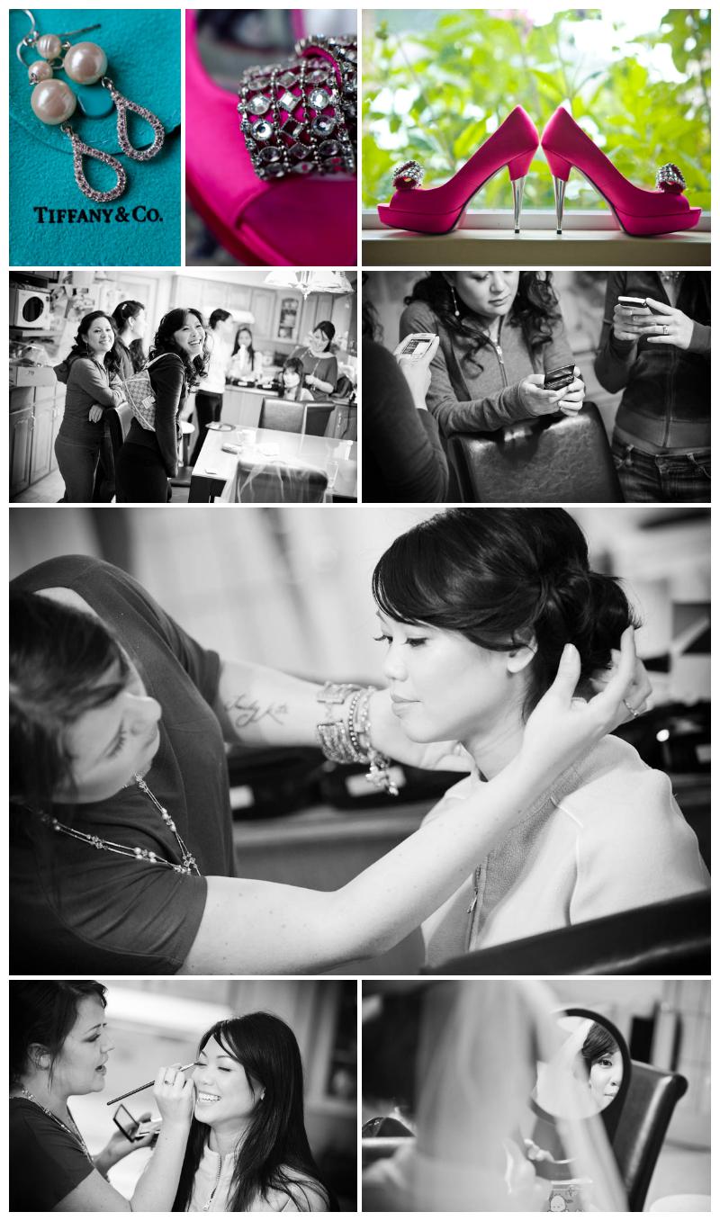 wedding, kirin, richmond, makeup, jayna marie, preparation, tiffany, shoe photo, shoes, wedding photos