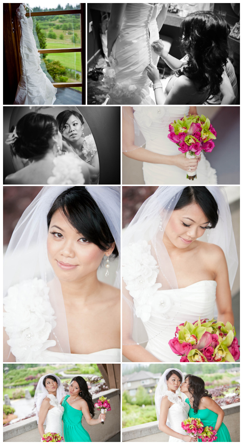 bridal portraits, west wood plateau, golf course, wedding, bride, jayna marie, hair, makeup, wedding photos, coquitlam