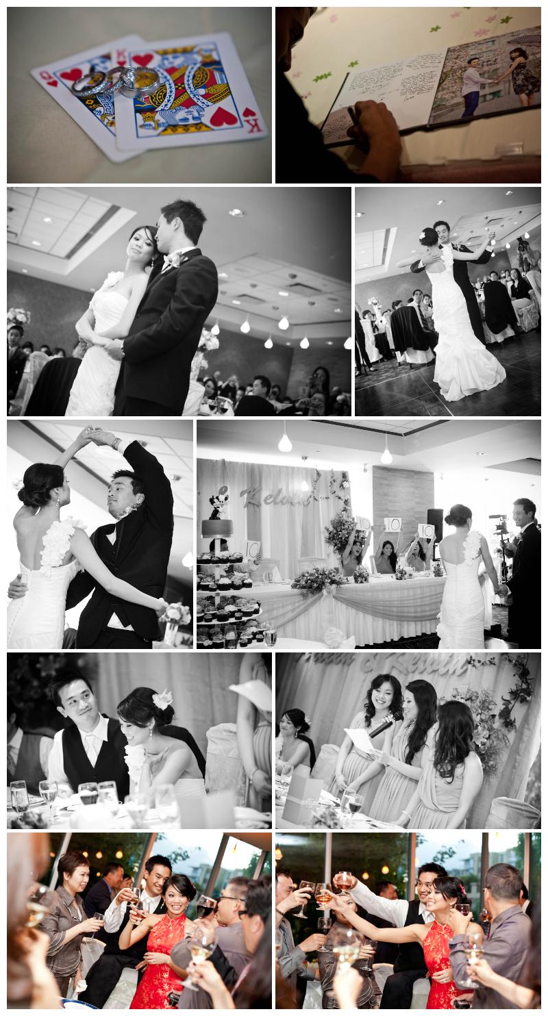 wedding reception, kirin restaurant, richmond, first dance, wedding, reception, speeches, ring shot, rings, guestbook, photo book, sign in book