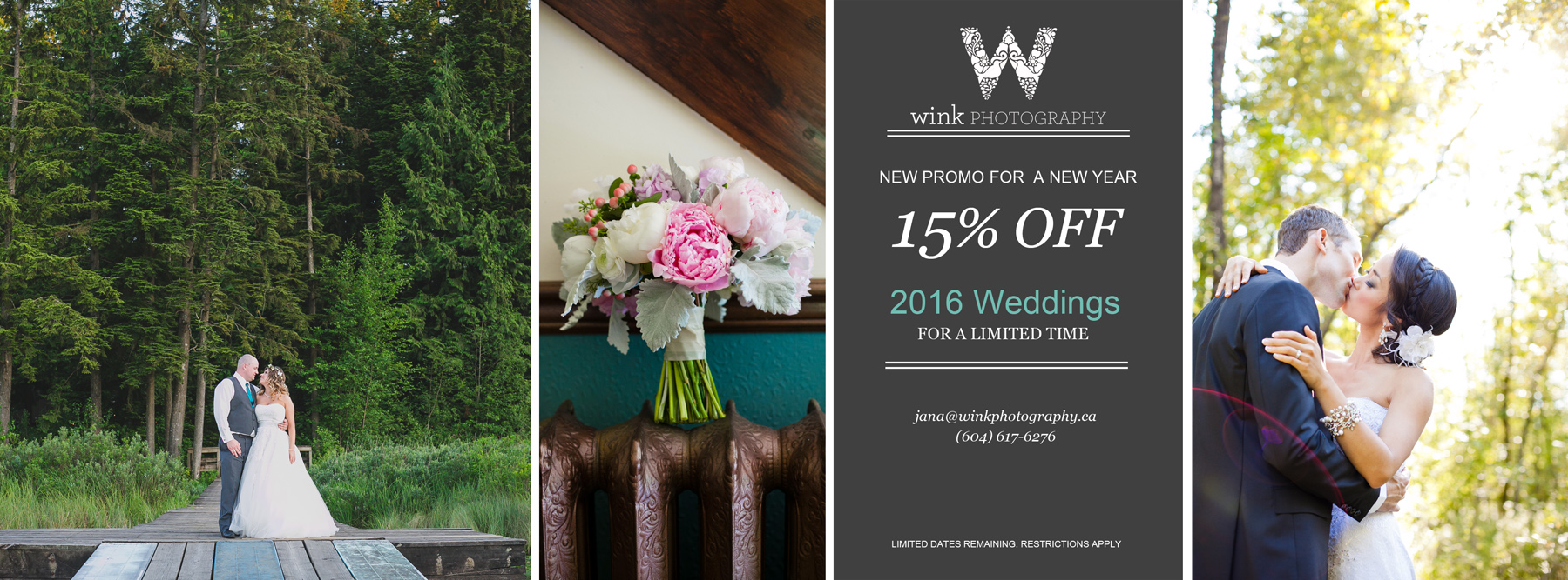 2016 Wedding Promo by Vancouver Wedding Photography Wink Photography