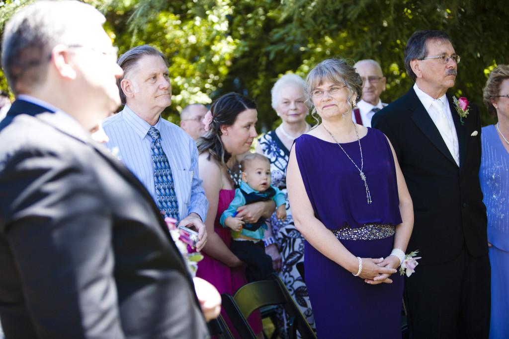 wedding ceremony chilliwack, happy mother