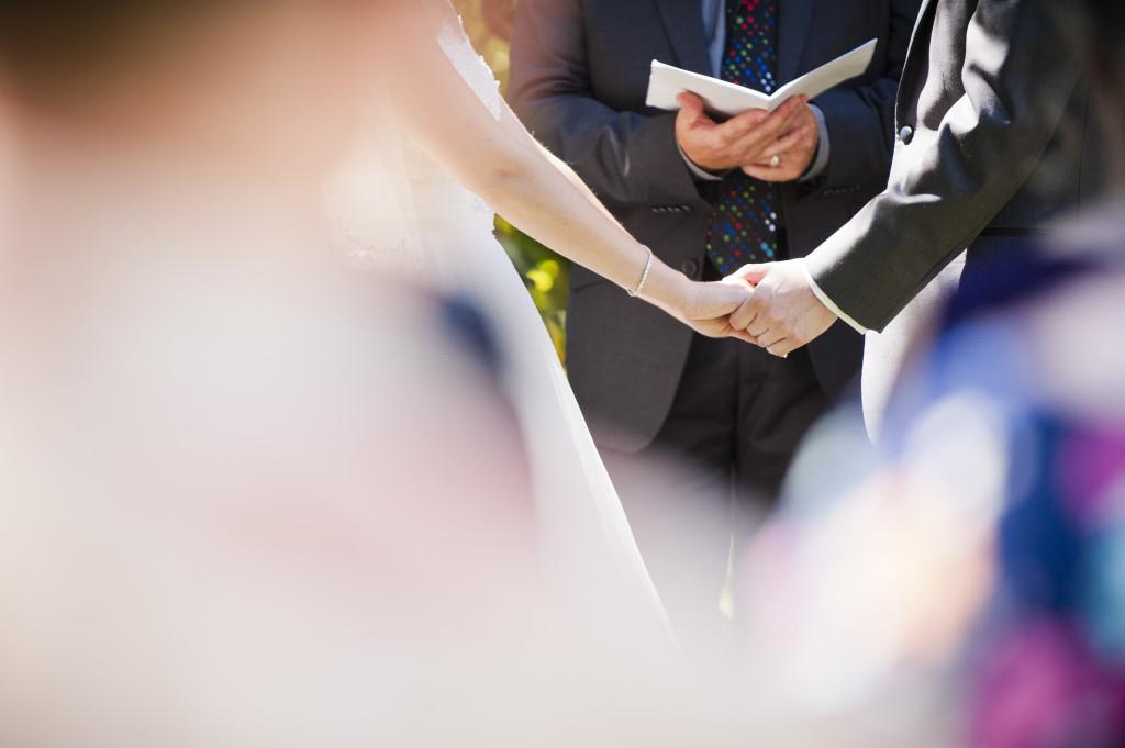chilliwack wedding ceremony, hands, detail