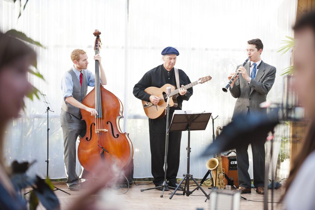 wedding band, 3 piece band, wedding reception