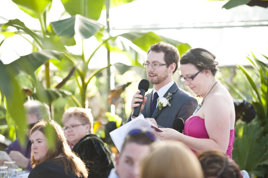 wedding reception mc