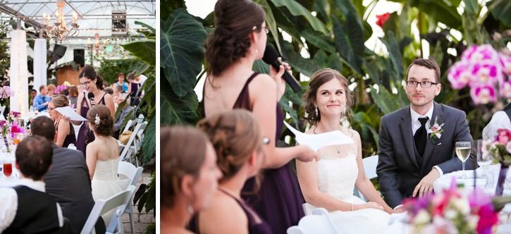 wedding speeches, secret garden at woodbridge ponds