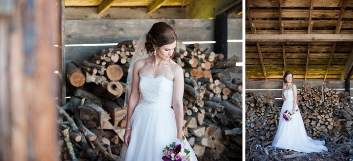 saar bank farms bride portrait