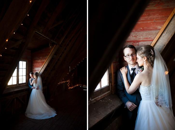 chilliwack wedding, barn wedding, barn potrait, bride and groom