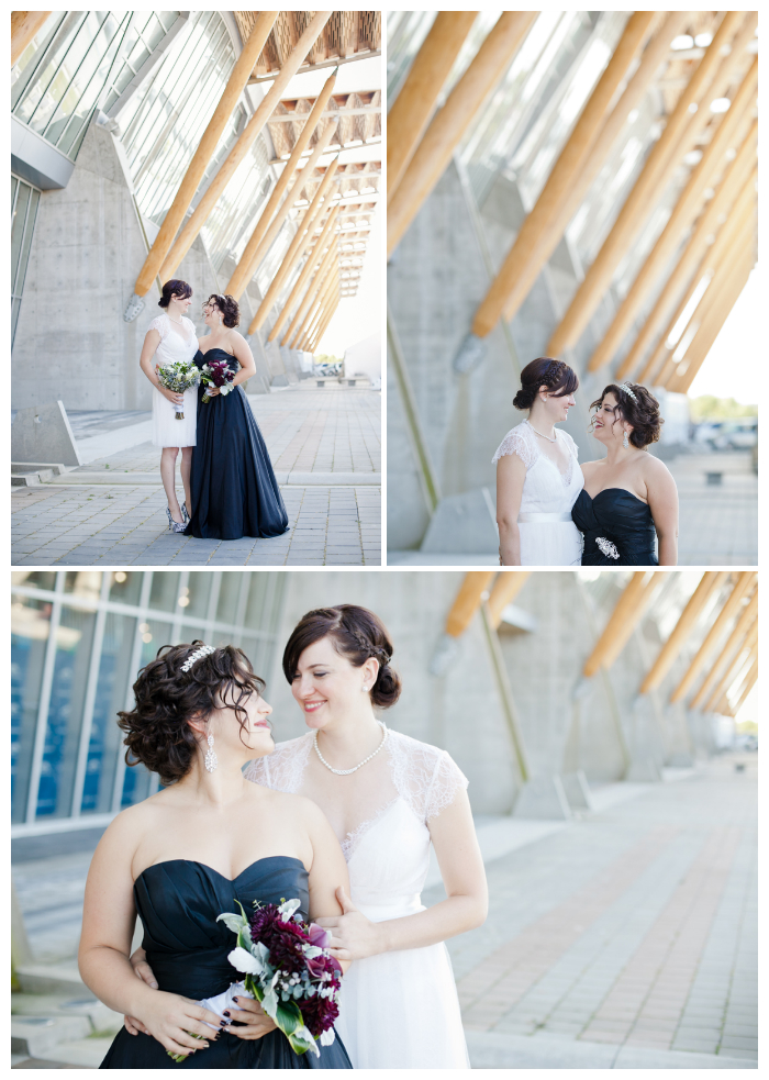 couples wedding portraits at richmond oval