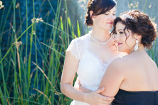 richmond oval wedding photos lesbian wedding vancouver