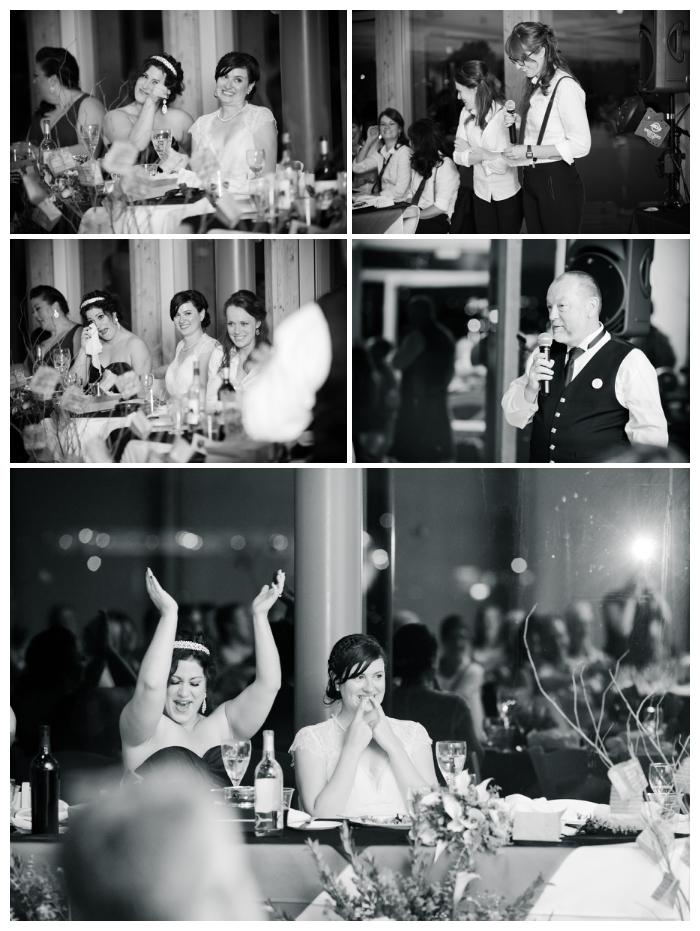 wedding reception speeches at UBC Boathouse Richmond