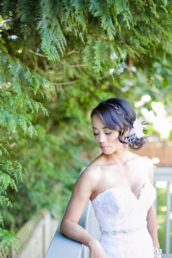 bridal portrait by wink photography