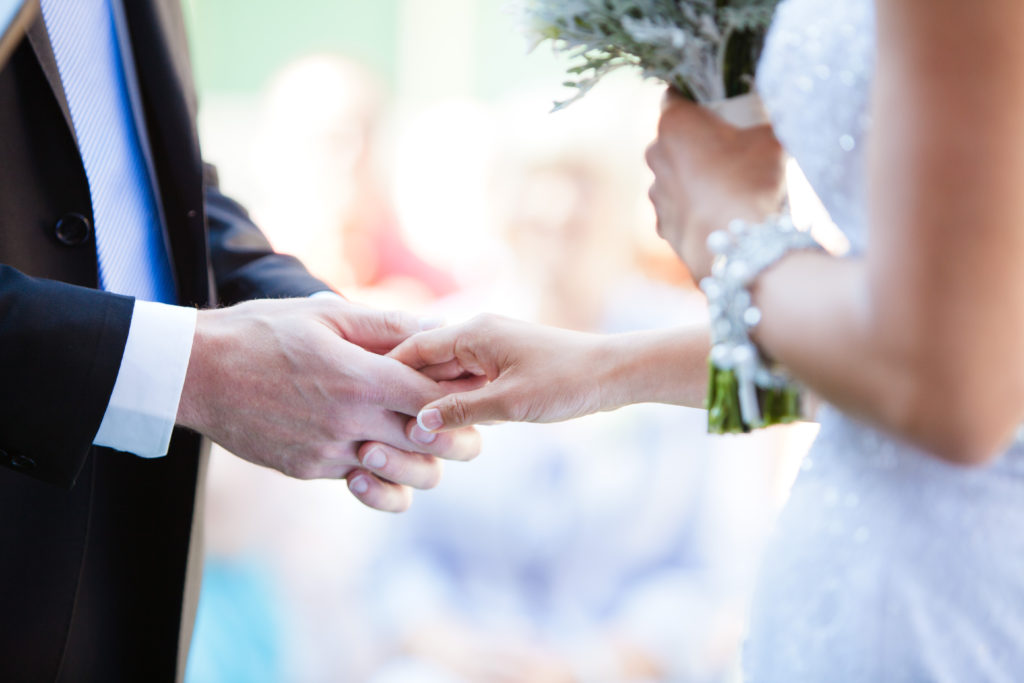 hands detail wedding ceremony port moody bc