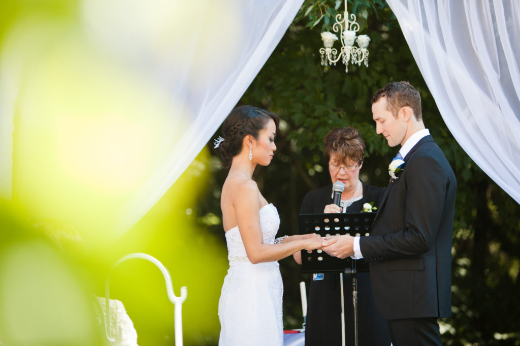 port moody wedding ceremony photo