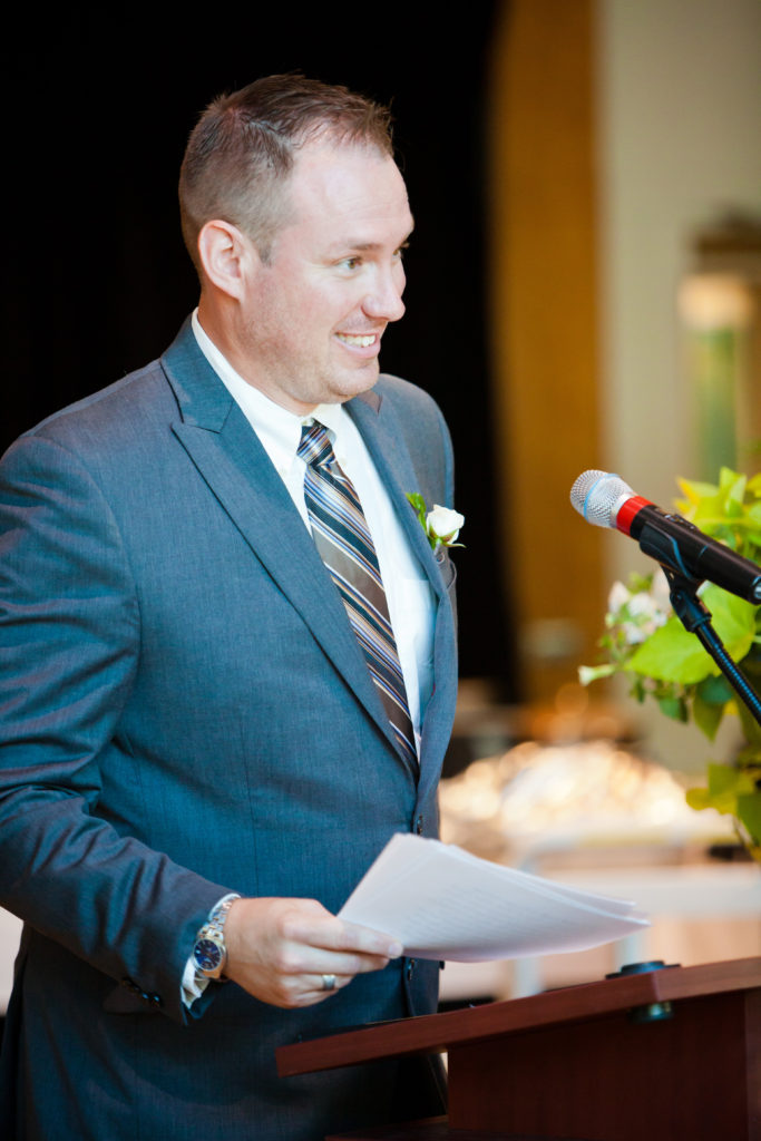 mc at port moody wedding inlet theatre