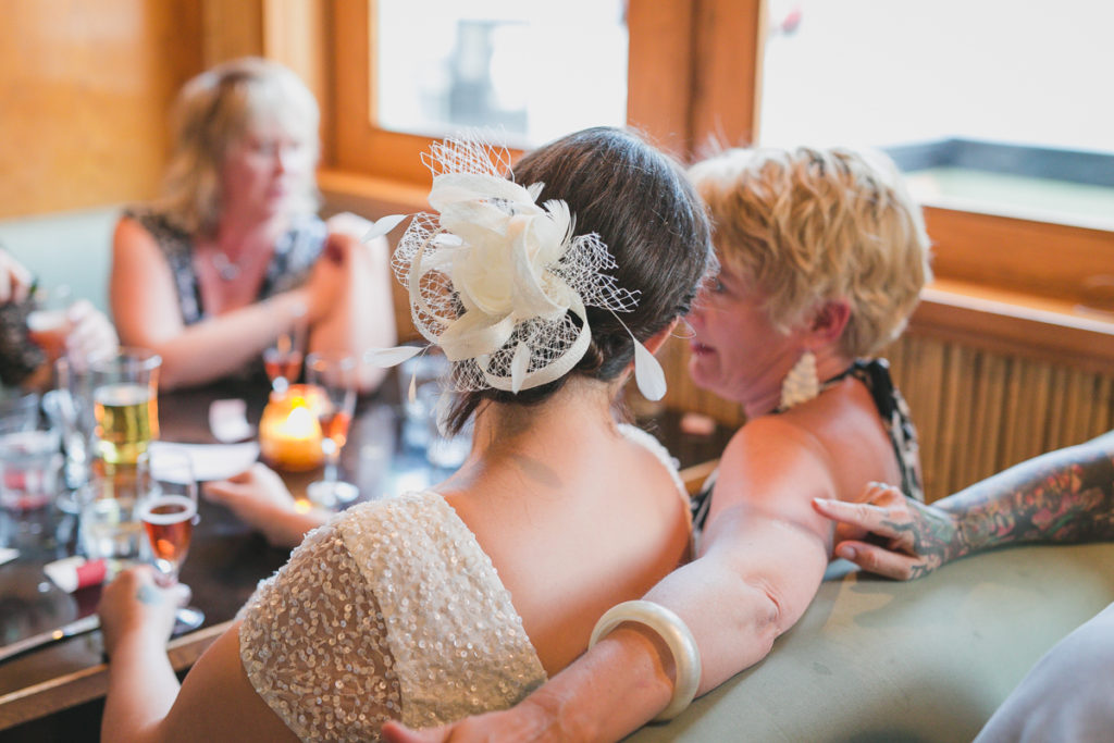 waldorf hotel wedding photos, tattooed bride vancouver