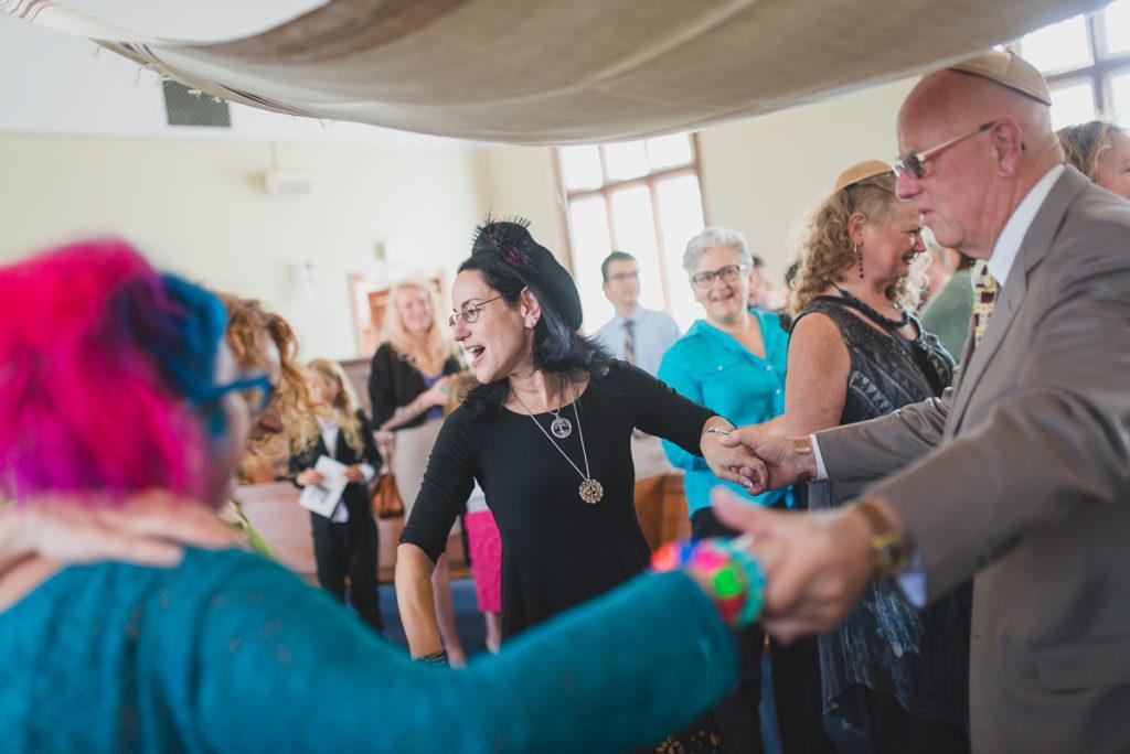 rabbi laura kaplan vancouver jewish wedding dance