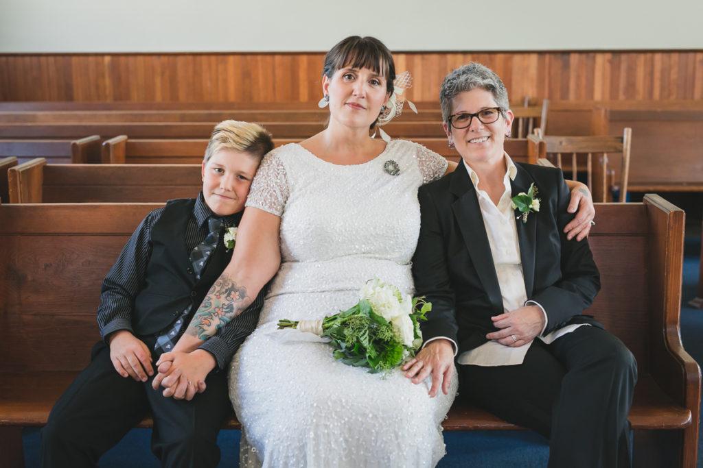 same-sex family portrait, vancouver same-sex wedding photographer