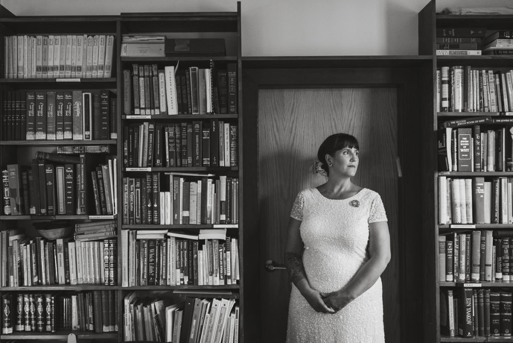vancouver synagogue wedding portraits, library wedding portrait