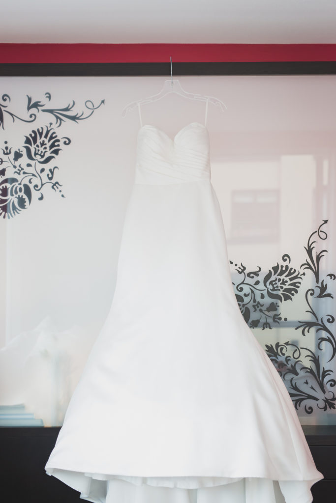 sposa wedding dress at opus hotel vancouver