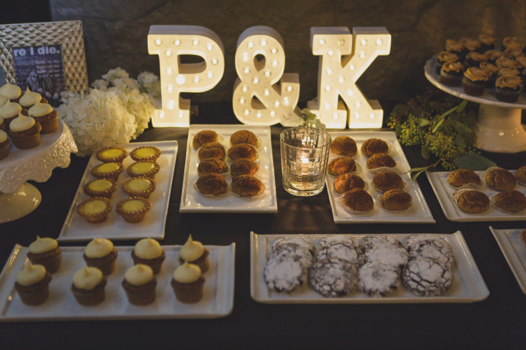 dessert buffet brix vancouver by sweet thea bakery