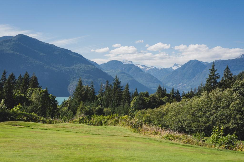 Furry Creek Squamish Landscape view