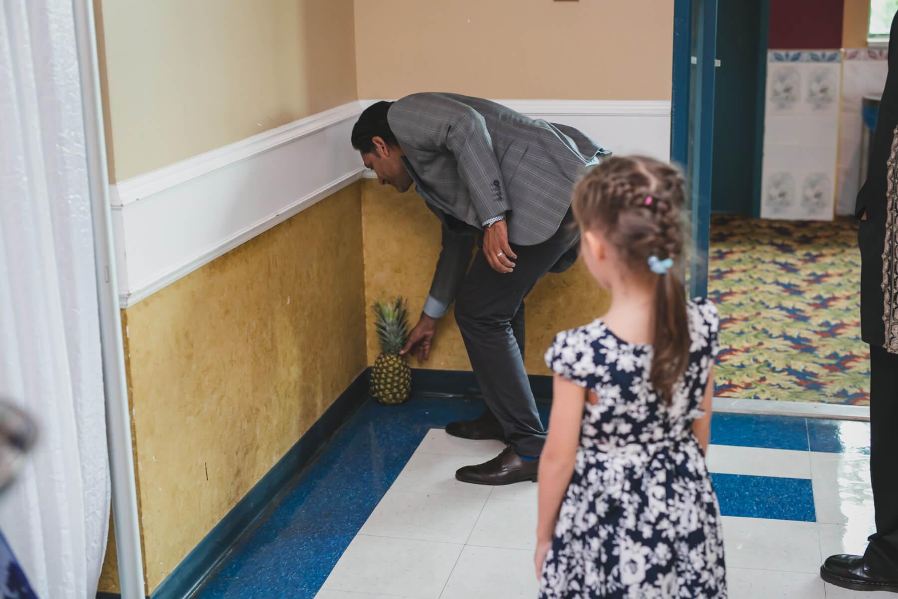 pineapple wedding tradition
