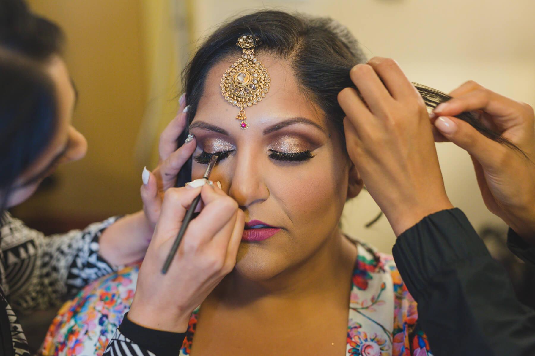goddess beauty studio vancouver getting ready photos