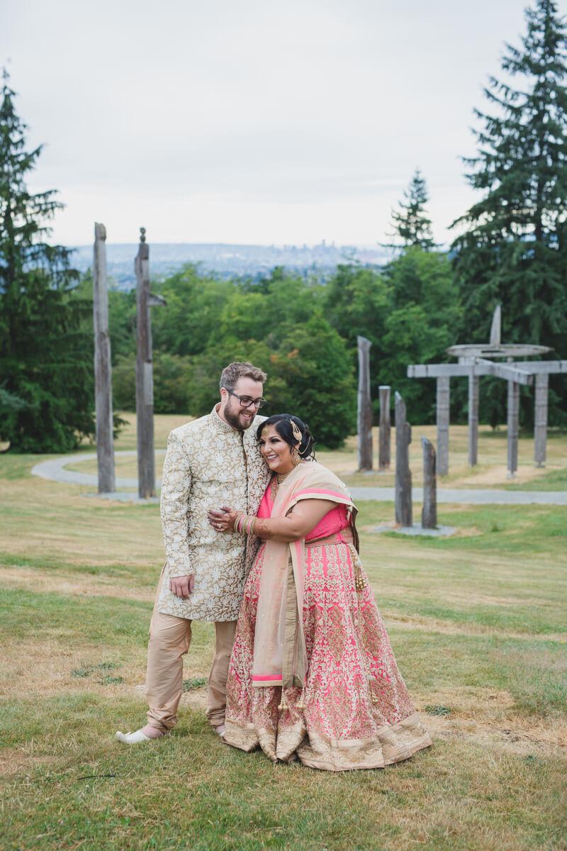 burnaby mountain wedding photos